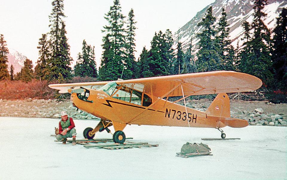 Dick Proenneke plane
