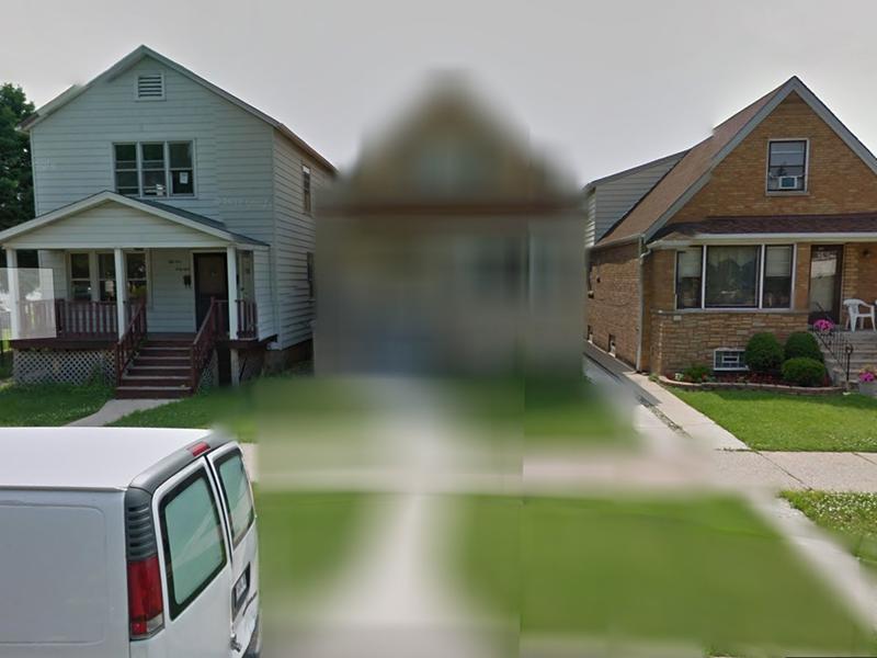 Google Maps blur