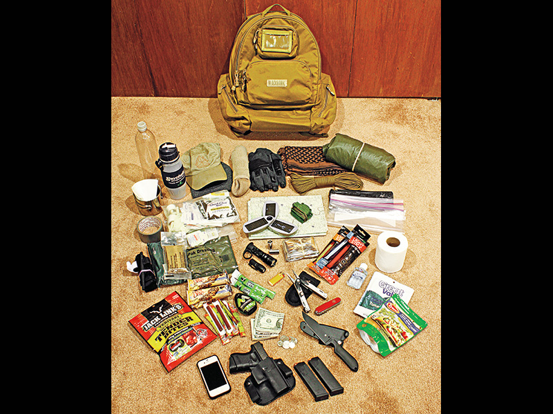 31 Essentials Vehicle Bug-Out Bag