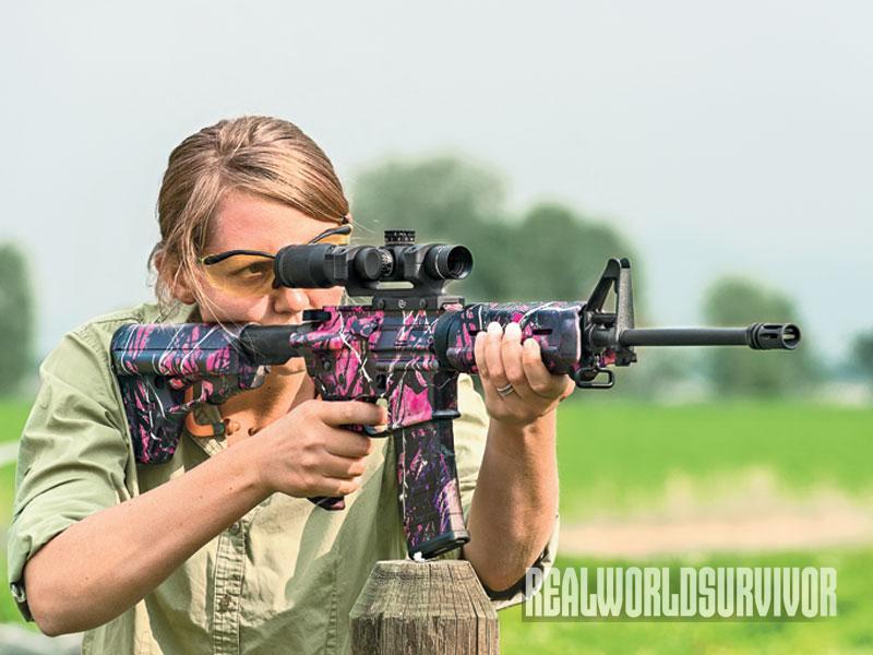 Types of Rifles, long gun, long guns, ladies rifles, ladies only, female rifle, female guns, female gun, at-15