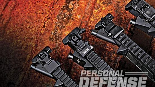 backup iron sights lead