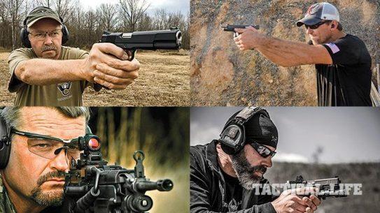 .45 ACP vs 9mm ammo comparison lead
