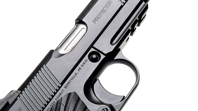 Wilson Combat Protector Professional Pistol review, trigger
