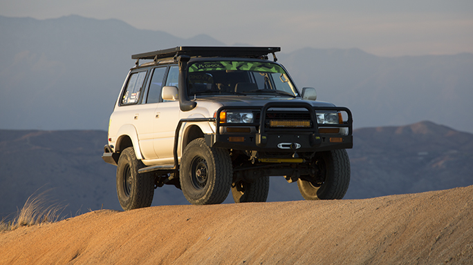 Toyota FJ80 Land Cruiser build, ADV80