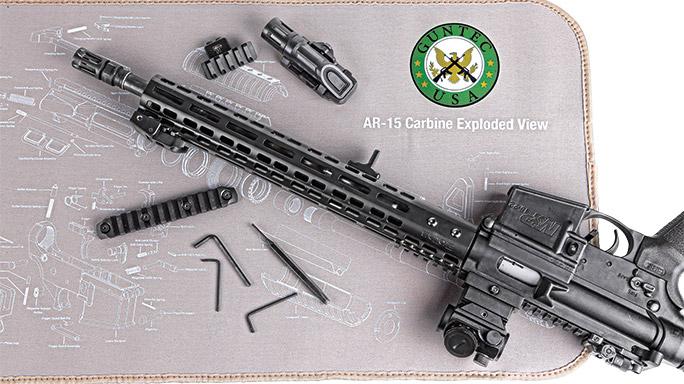 Guntec's AR-15 Armorer Gun Cleaning Mat