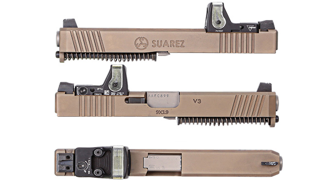Suarez International V3 SI-317 RMR Slide, Glock Slides