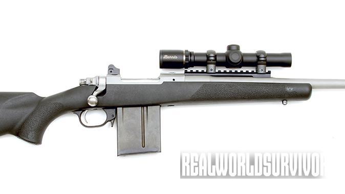 Ruger Gunsite Scout Rifle bolt-action