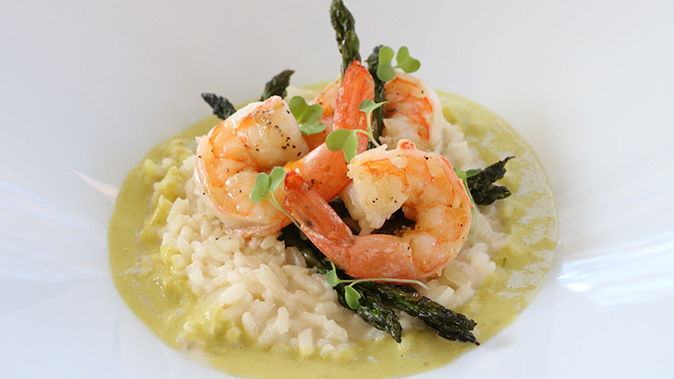 Shrimp Risotto holiday recipes
