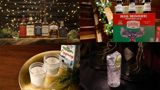 Holiday Drinks Ballistic Magazine 2017