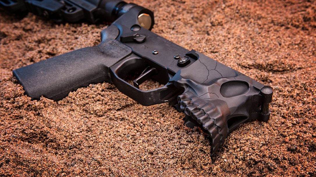 Sharps Bros Lower Receiver Gun Industry dirt