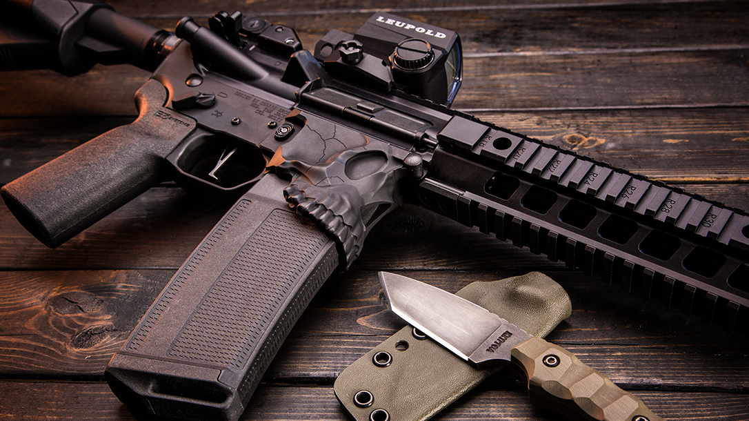 Sharps Bros Lower Receiver Gun Industry knife