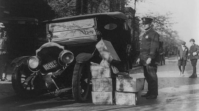 Prohibition Bootlegging police NASCAR