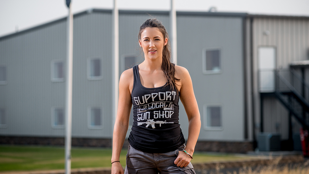 Lauren Young Army Veterans Ballistic tank top