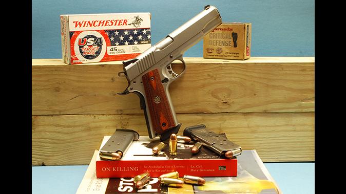 defensive loads 1911 handgun