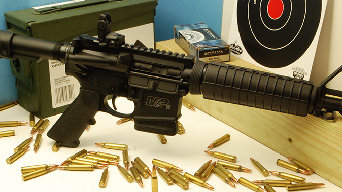 defensive loads smith wesson ar rifle