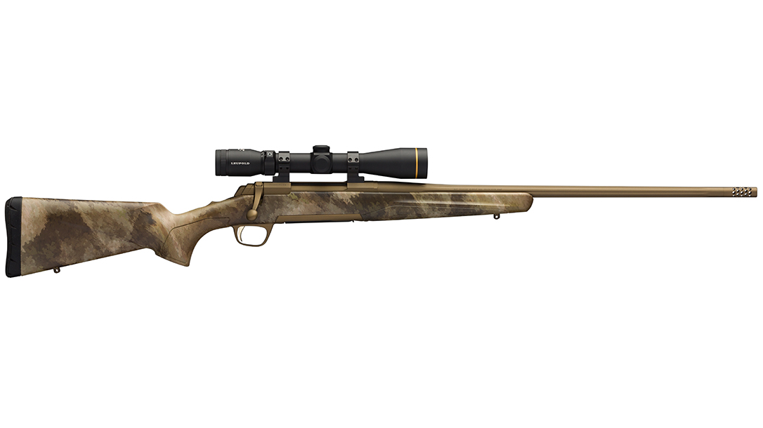 Browning X-Bolt Hell's Canyon Speed Rifle Leupold scope