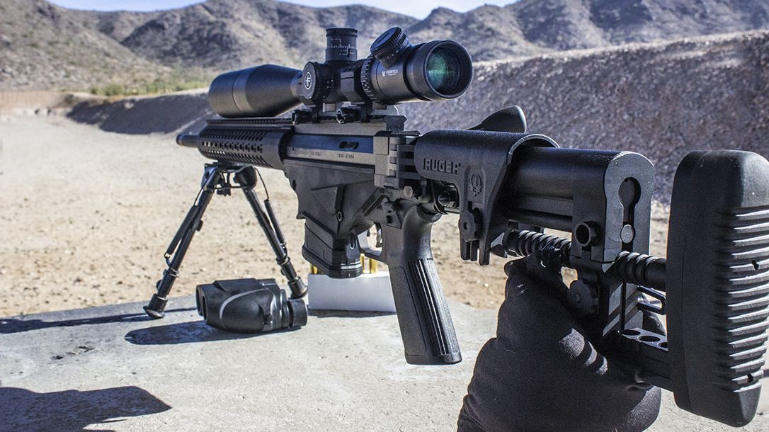 Ruger Precision Rifle test range