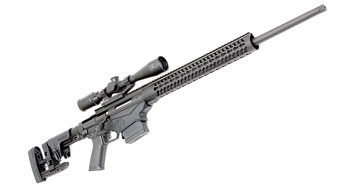 Ruger Precision Rifle test right