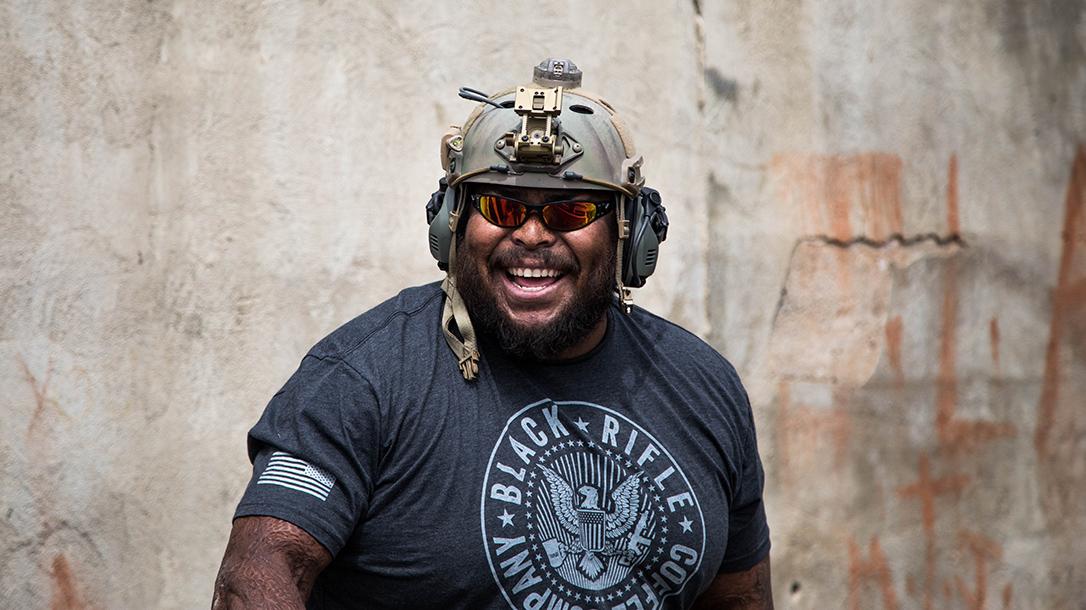 Black Rifle Coffee Company Black Guns helmet