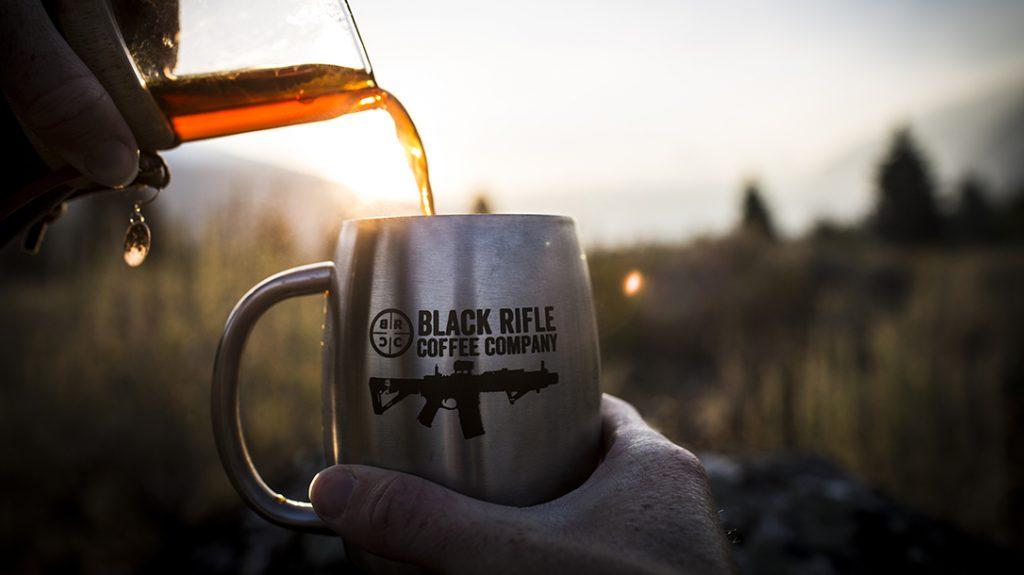 Black Rifle Coffee Company Black Guns pour