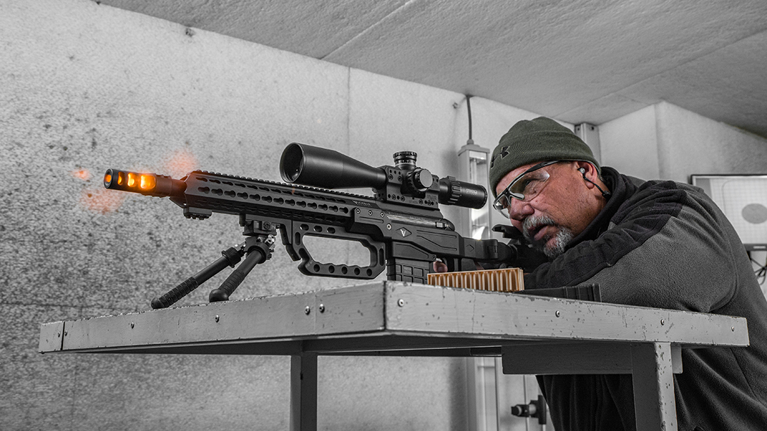 Ballistic Precision magazine Victrix cover shoot David Bahde