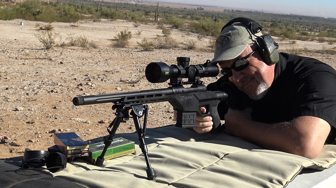 Savage 10 BA Stealth Rifle Bushnell DMR II scope gun giveaway