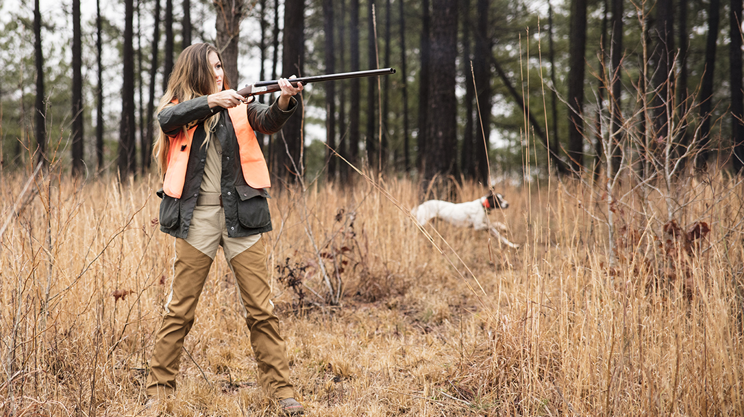 Hunting Your Own Food Chef Bri Van Scotter aim