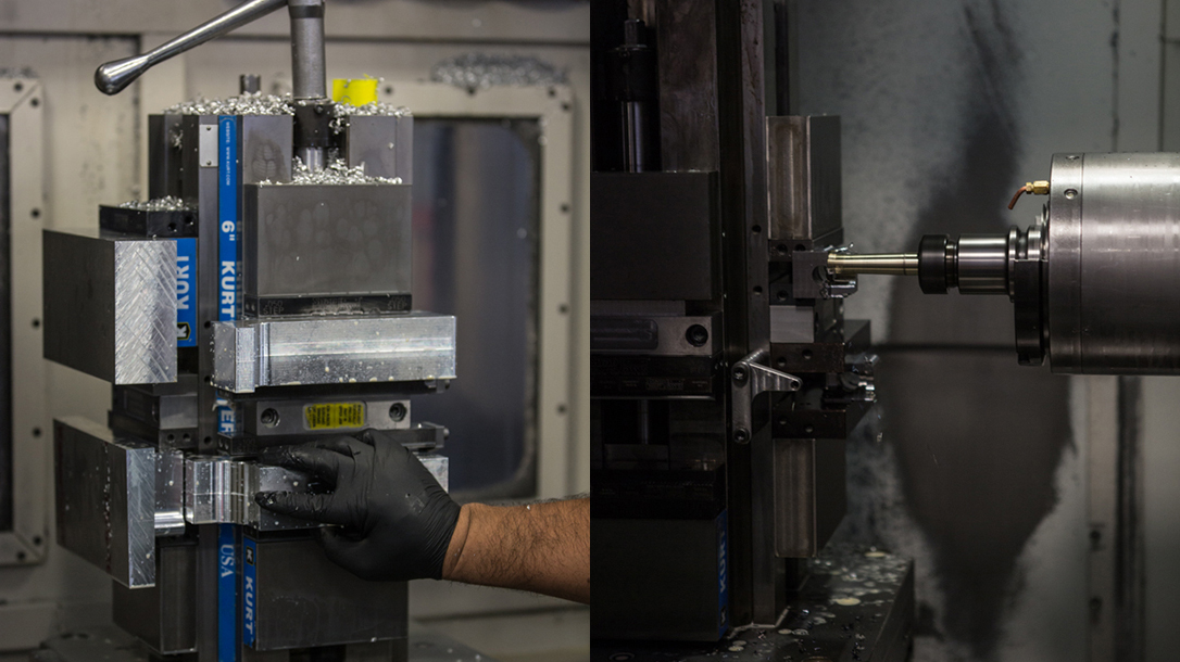 Sharps Bros Jack Lower Receiver machining