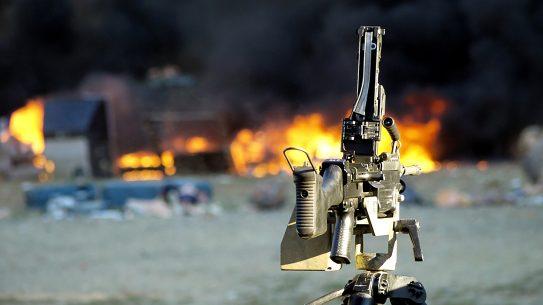 Knob Creek Machine Gun Shoot Kentucky lead