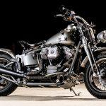 Harley WLA 1951 Panhead Repro Bravo Company Paul Buffoni profile
