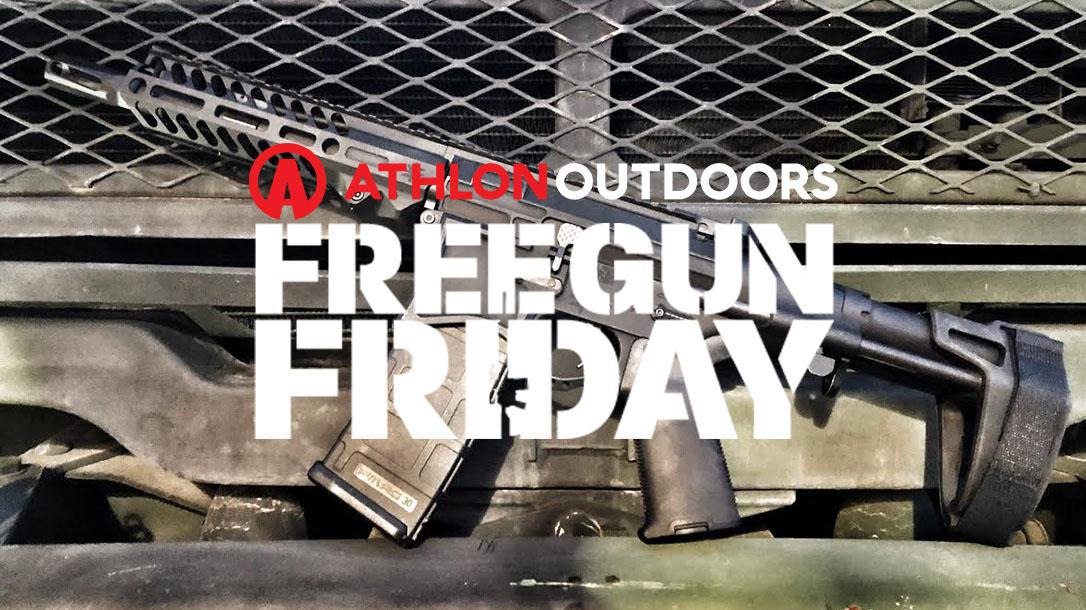 Free Gun Friday Athlon Outdoors gun giveaway
