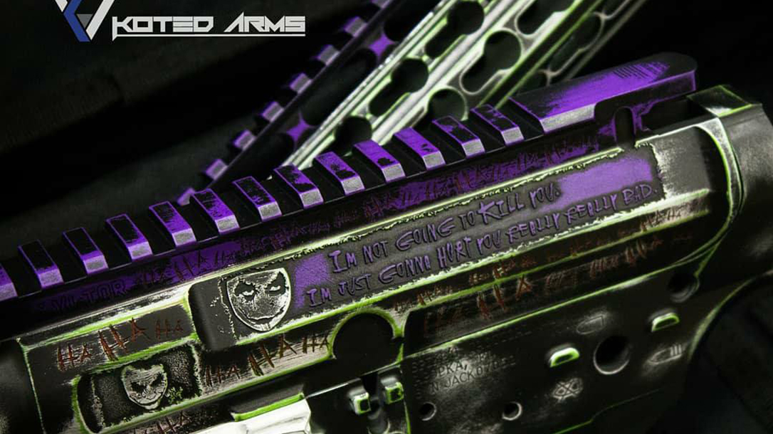 Koted Arms Joker Sharps Bro Jack Lower quote
