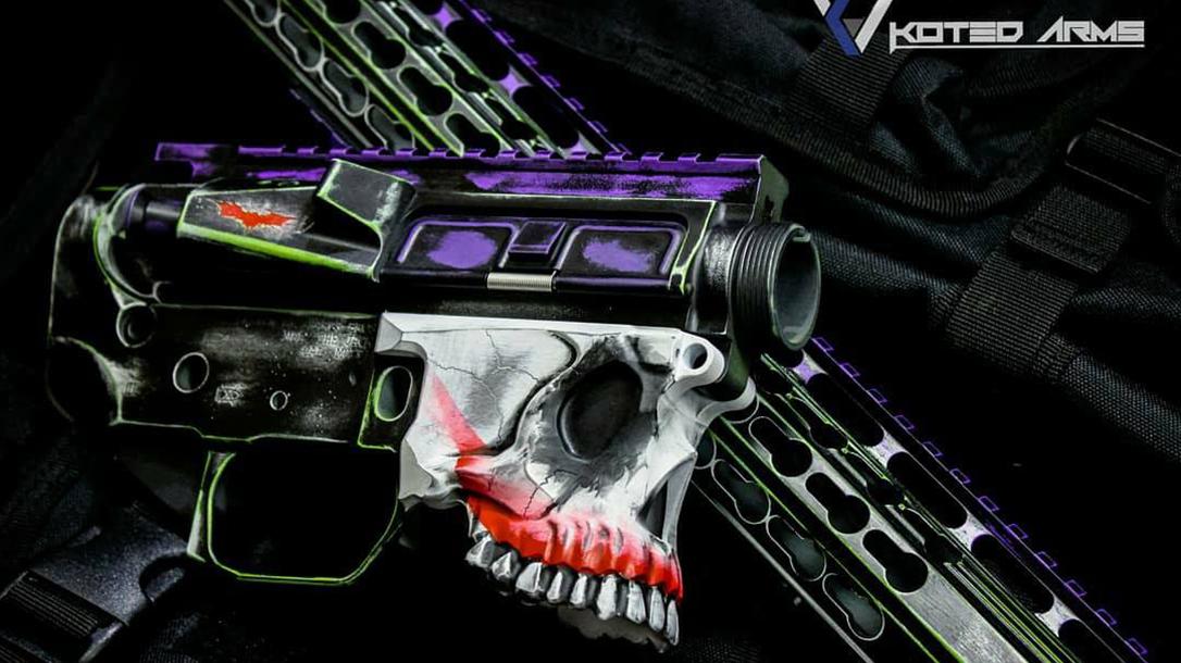 Koted Arms Joker Sharps Bro Jack Lower skull