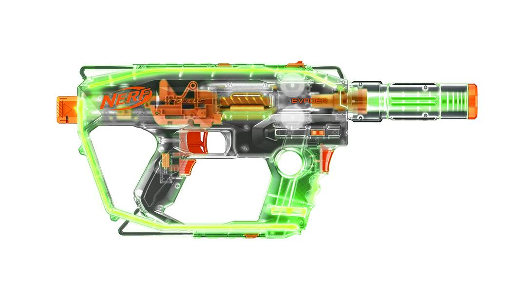 New Nerf Guns fall 2018 NerfModulus Ghost Ops Evader Blaster
