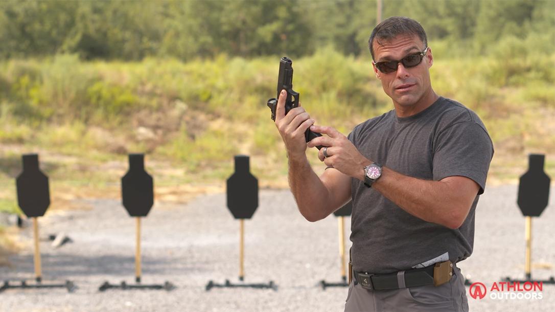 Robert Keller pistol reloading