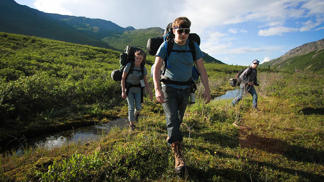 External Frame Packs, Denali National Park and Preserve