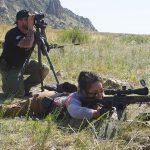 Burris Optics Team Challenge, Rei Hoang rifle shooting