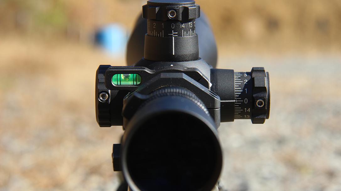Long-Range Shooting, scope, level