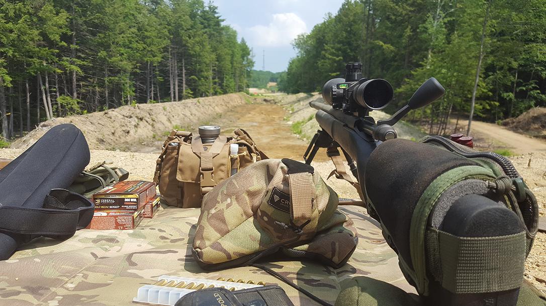 Long-Range Shooting, range setup
