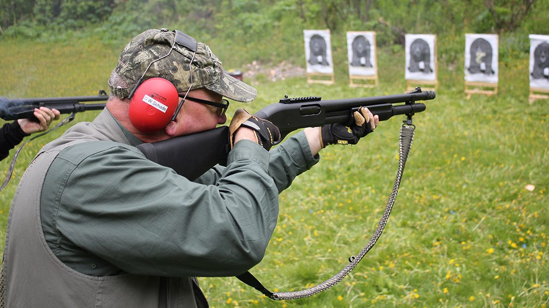 Bear Defense, shotgun, target, range, training