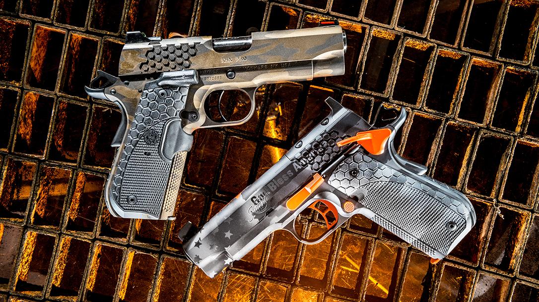 Kimber KHX Pro 1911 Pistol, ballistic custom challenge, duo