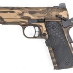 1911 Pistol, Hillbilly 223 Urban Finishes, left