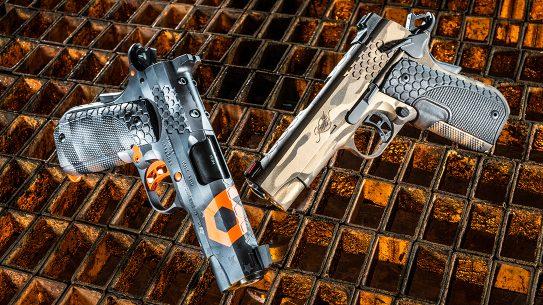 Kimber KHX Pro 1911 Pistol, ballistic custom challenge, lead