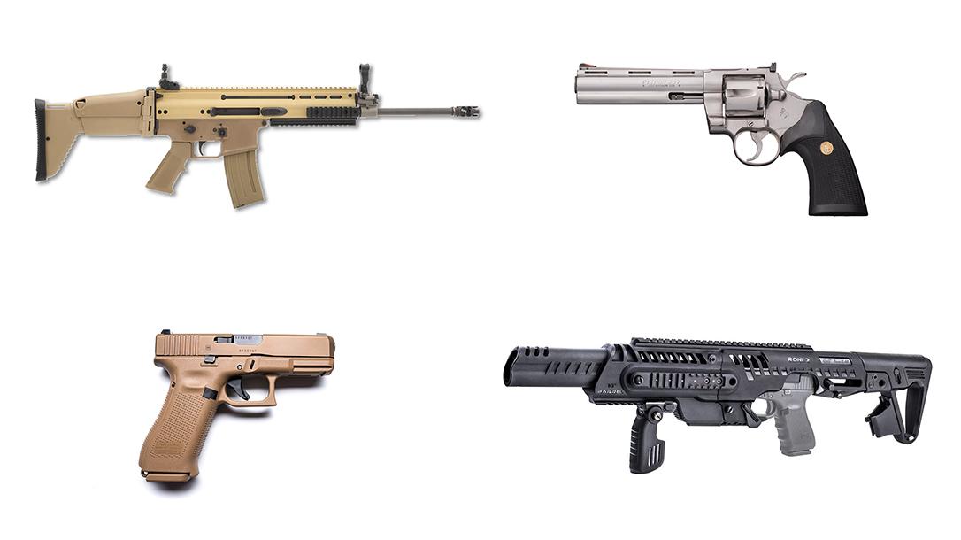 Concept Guns, Gun Reboots, pistols, revolvers, rifles