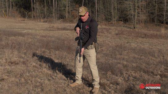 Gun muzzle control, Wes Doss, gun range training