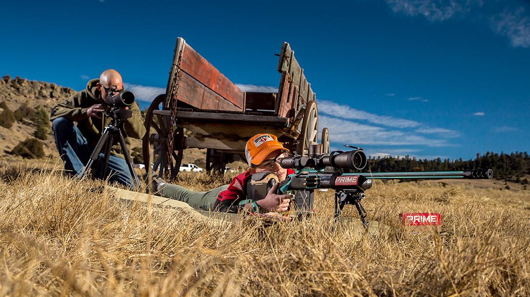 MaryBeth Olson, Long-Range Shooting, Rifle Shooting, spotter
