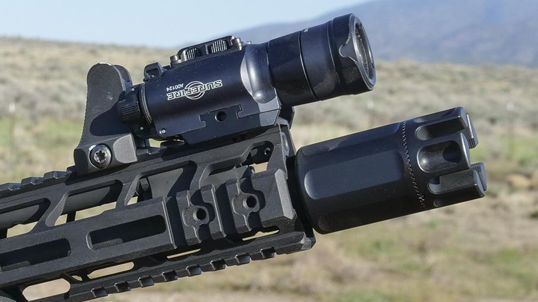 Trijicon MRO Green Dot, Mini Rifle Optic, green dot sight, Surefire XH35