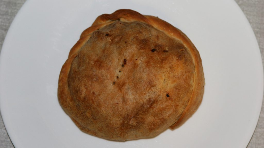 Cooking Porcupine: Porcupine pastie, ground meat