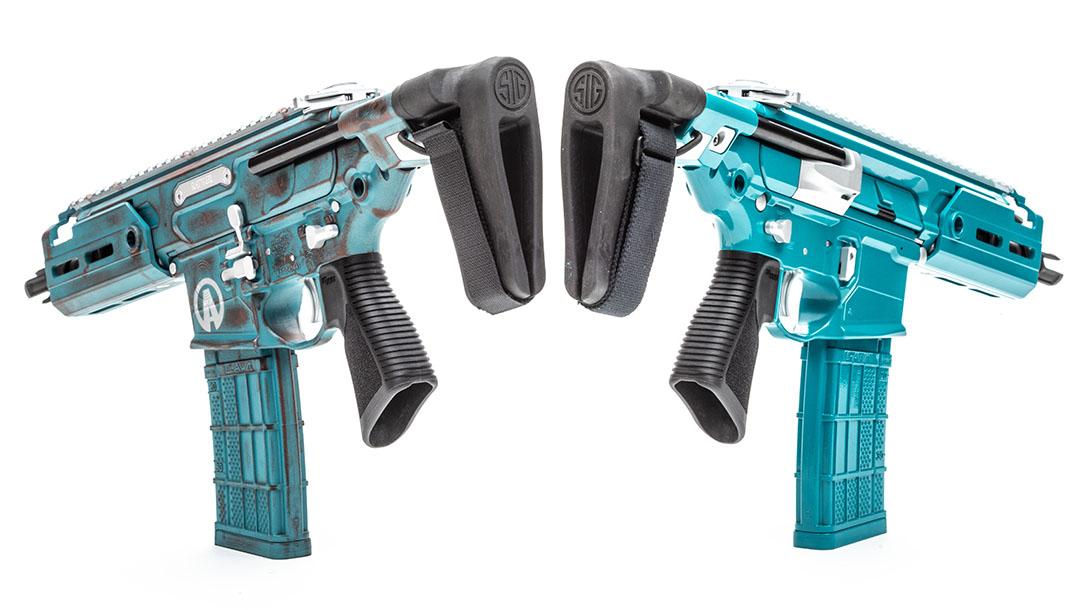 Sig Sauer MCX Rattler Pistols muscle car pistol stabilizing brace