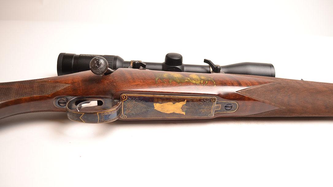 Most Expensive Guns, Dakota Arms Custom Model 70 rifle bottom